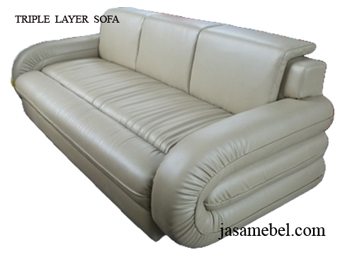 sofa triple layer
